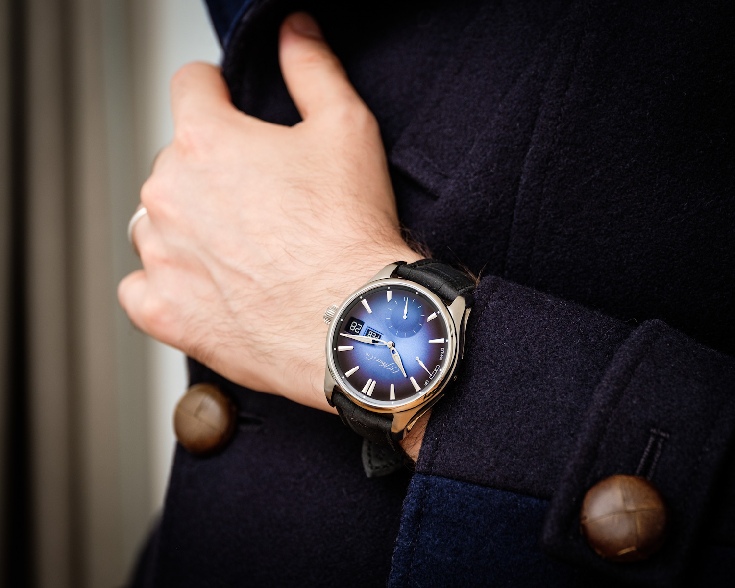 Timeandwatches.pl H.Moser & Cie. Pioneer Perpetual Calendar MD