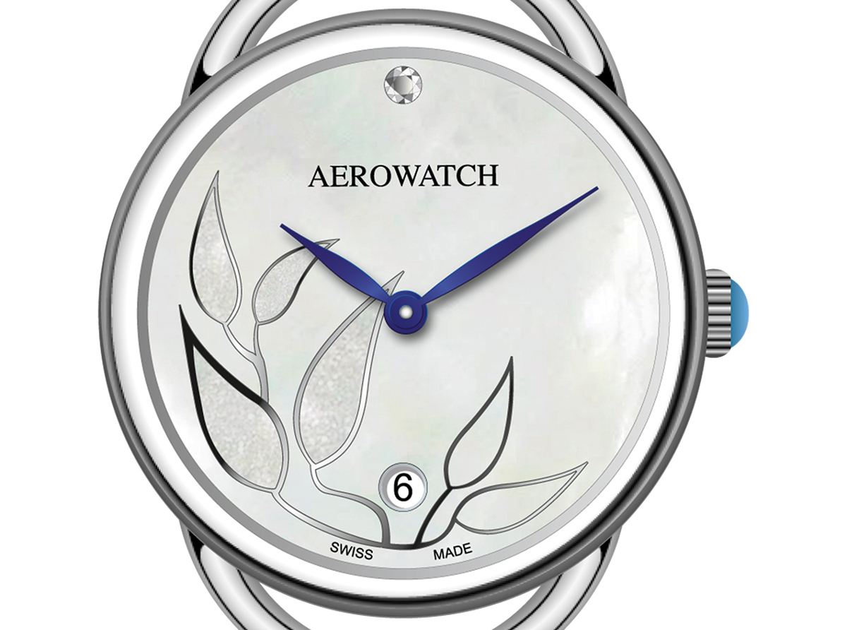 Aerowatch Sensual Tea Leaves | timeandwatches.pl
