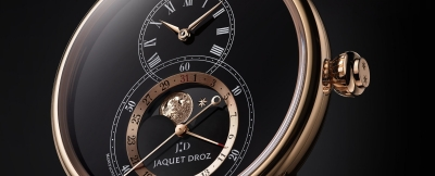 [Pre-Basel 2018]:Jaquet Droz Grande Seconde Moon Black Enamel